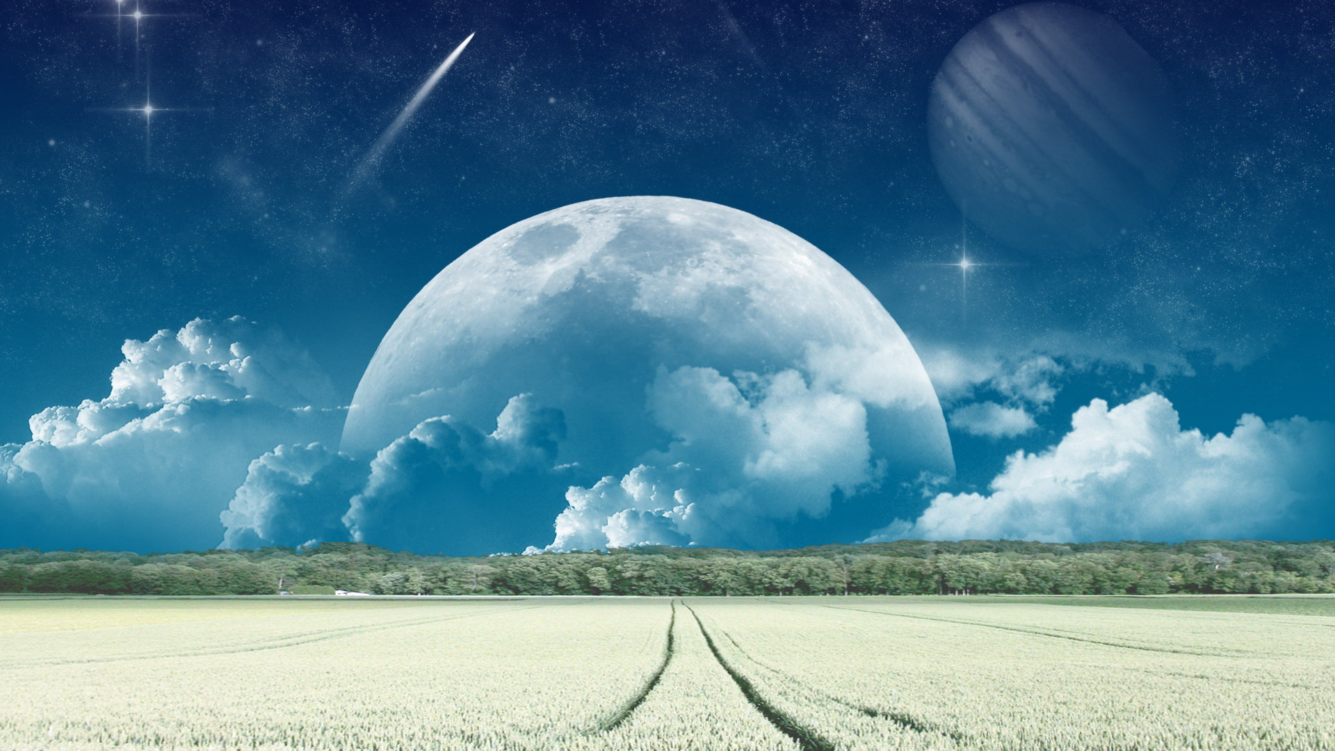Free Download Planet Rise Background Id 193780 Hd 1080p For Computer