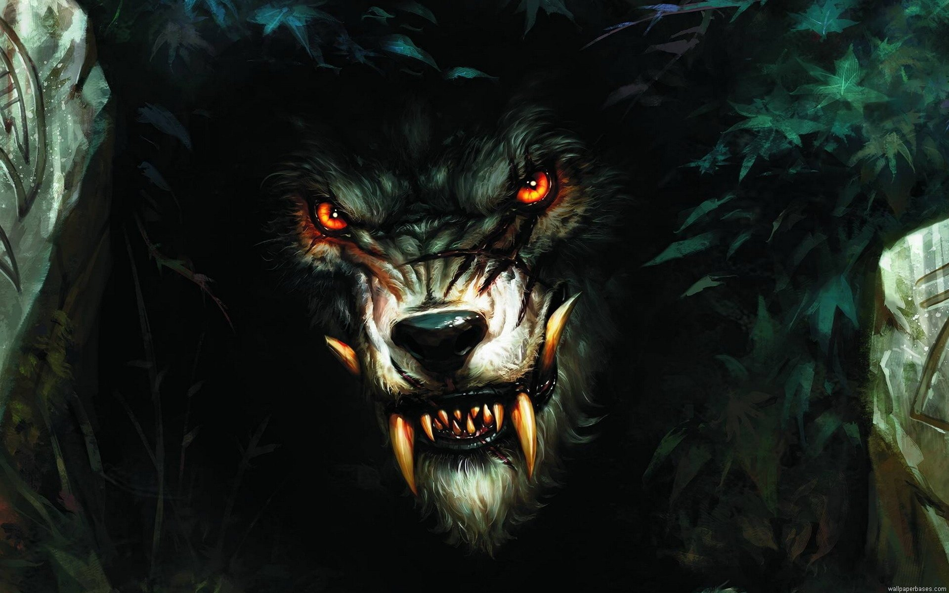 Download hd 1920x1200 Werewolf computer background ID:163695 for free