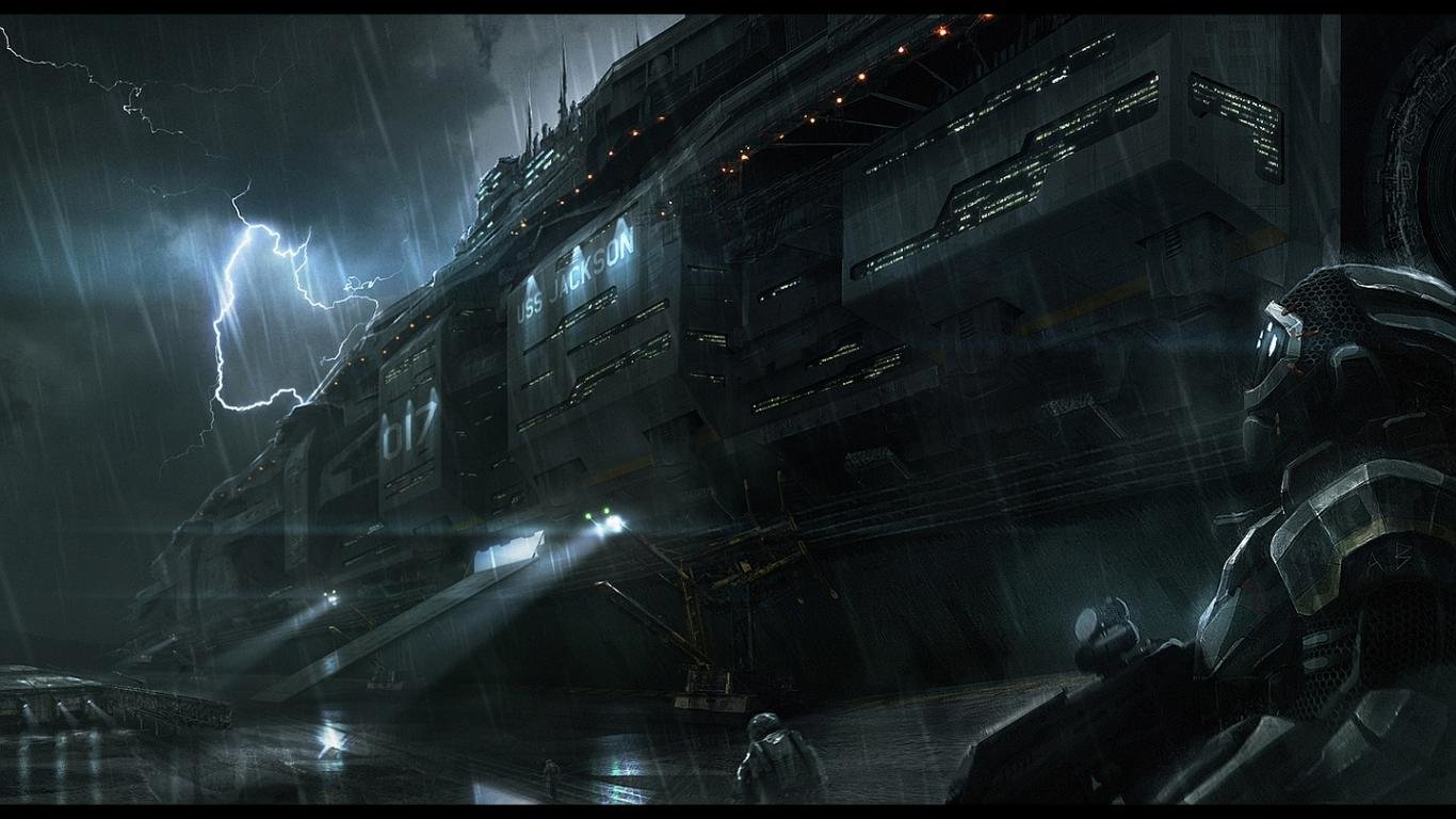 Awesome Spaceship free wallpaper ID:183767 for hd 1366x768 PC