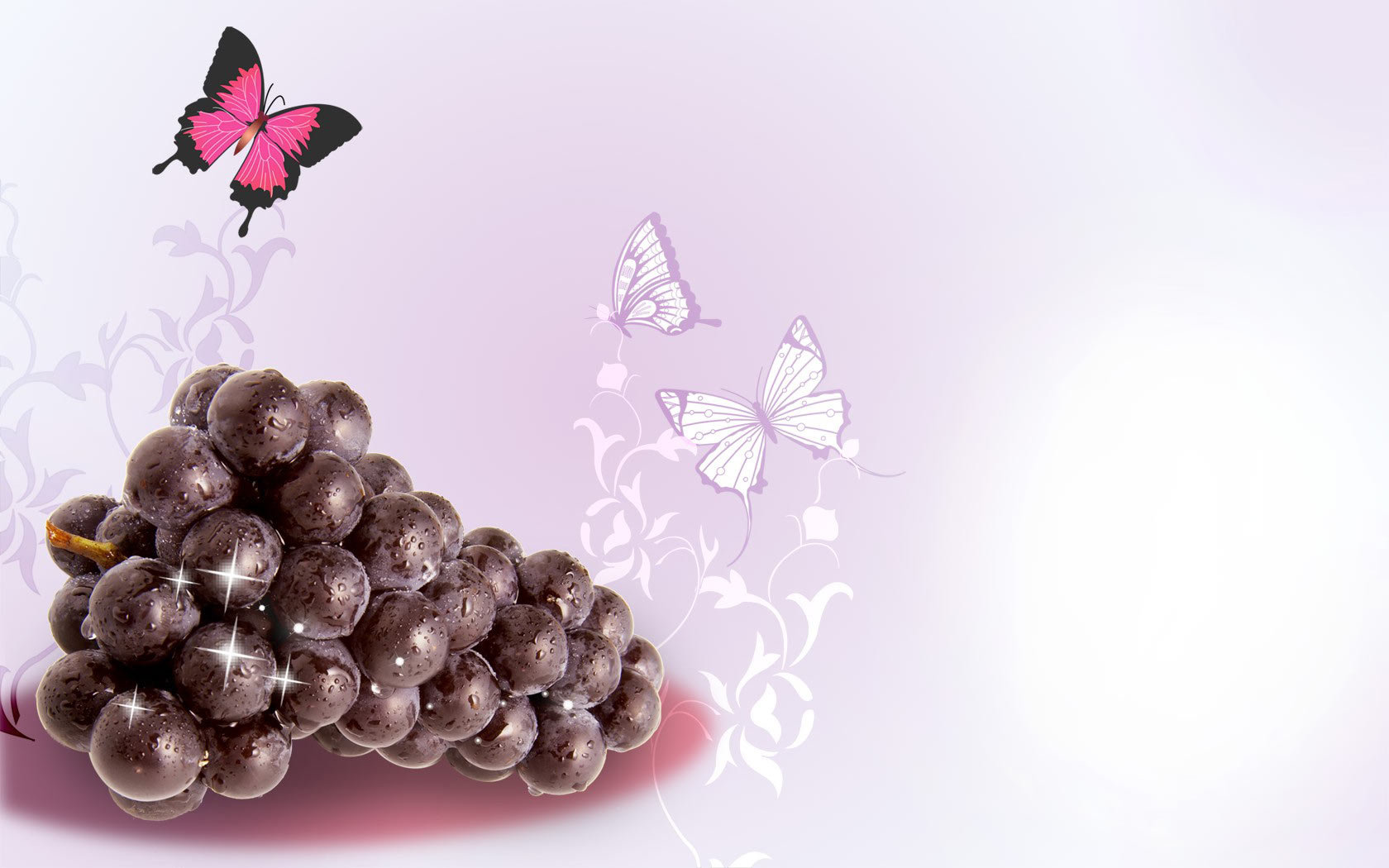 Free download Grapes wallpaper ID:420819 hd 1680x1050 for PC