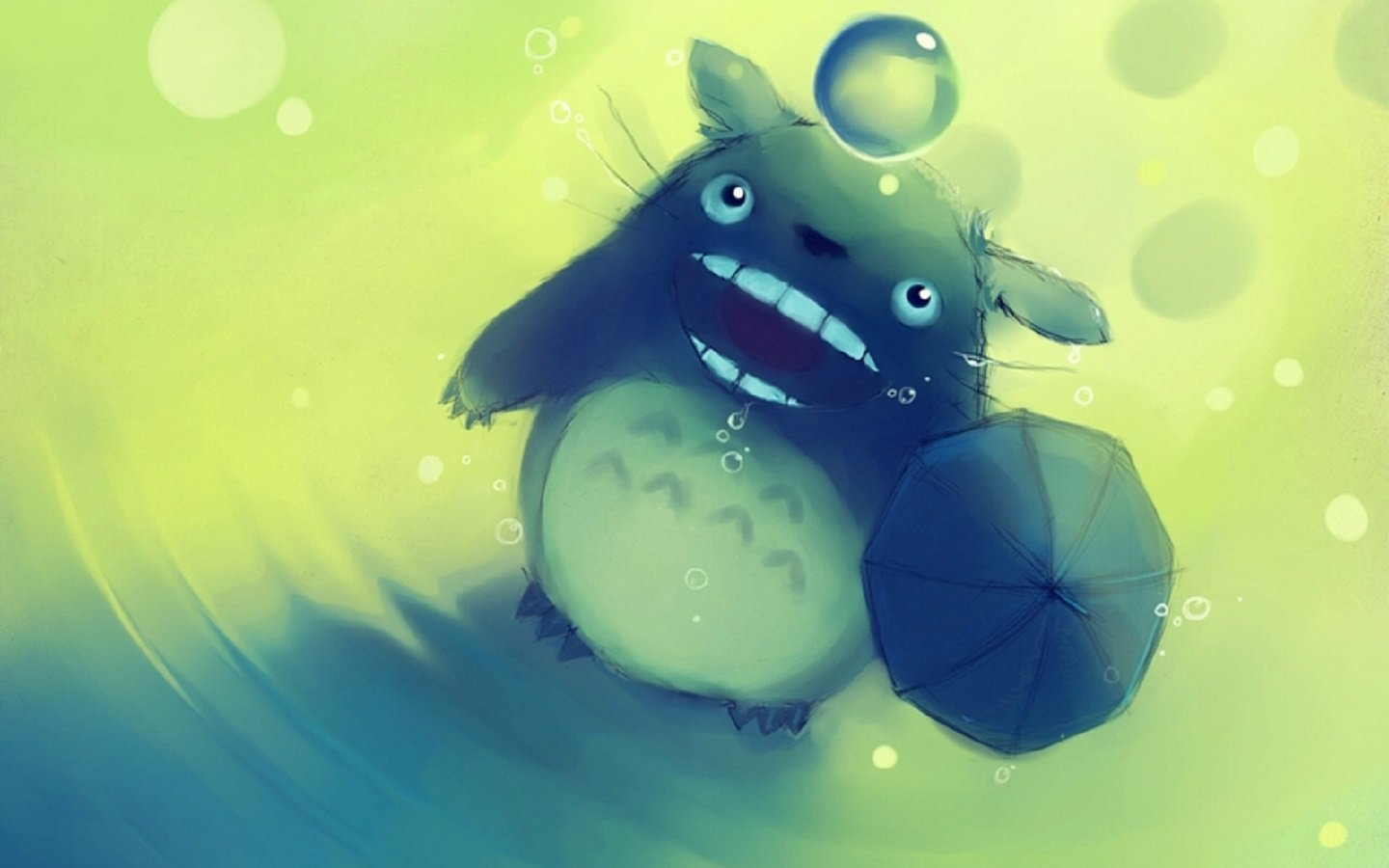 High resolution My Neighbor Totoro hd 1440x900 wallpaper ID:259340 for computer