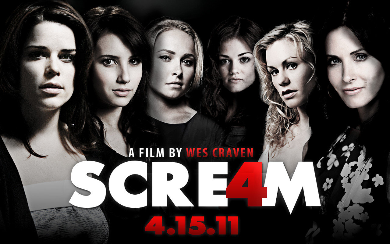 Awesome Scream 4 free background ID:27101 for hd 1280x800 PC