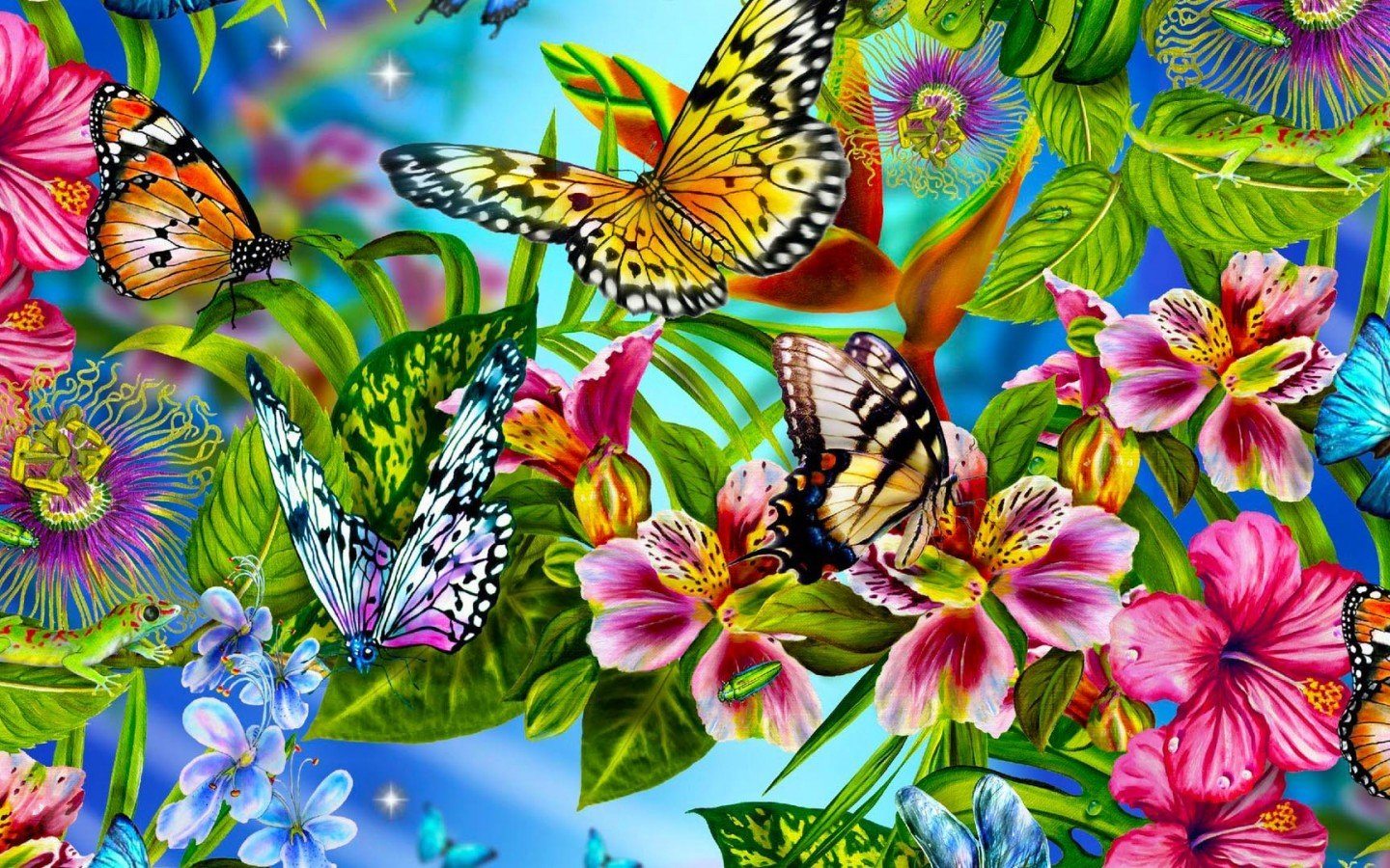 Best Butterfly background ID:167537 for High Resolution hd 1440x900 desktop