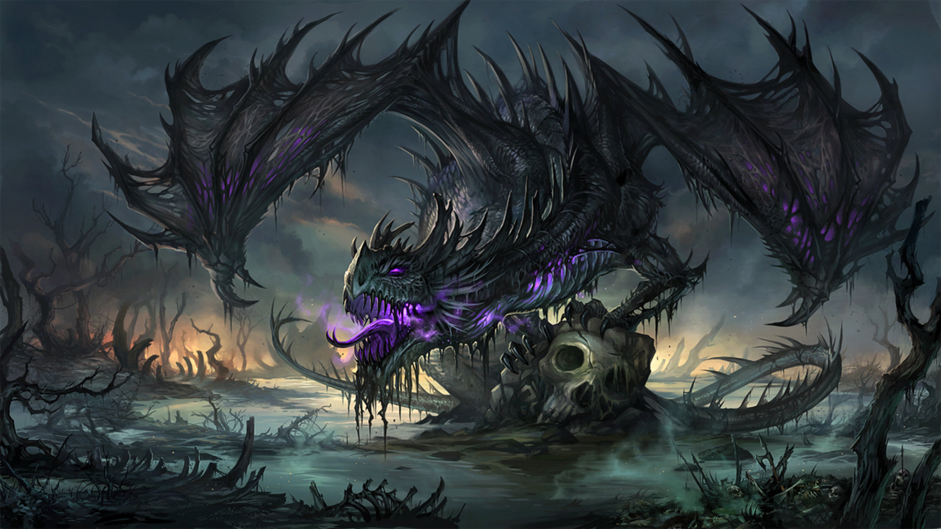 Best Dragon background ID:146489 for High Resolution full hd 1920x1080 desktop