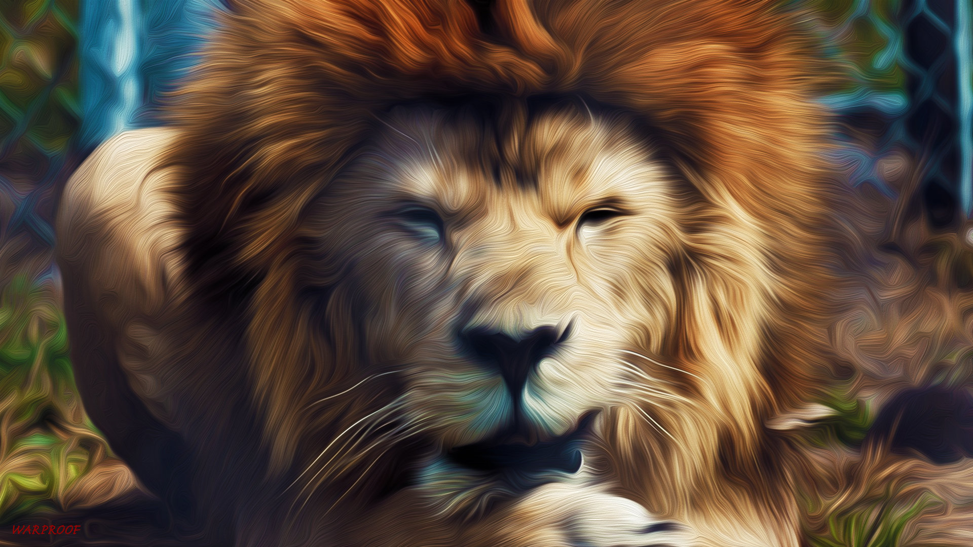 Free download Lion background ID:255176 hd 1920x1080 for PC