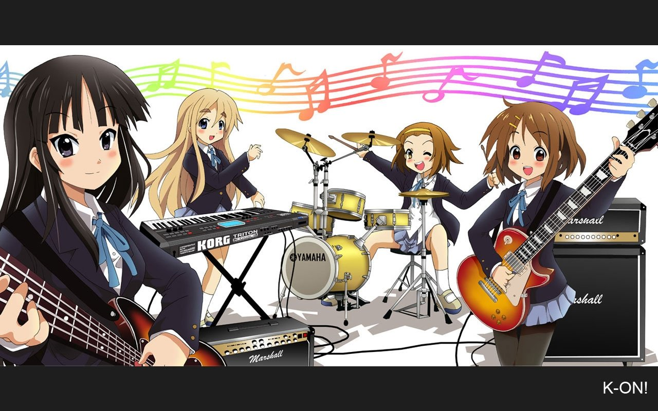 Free K-ON! high quality wallpaper ID:212753 for hd 1280x800 computer