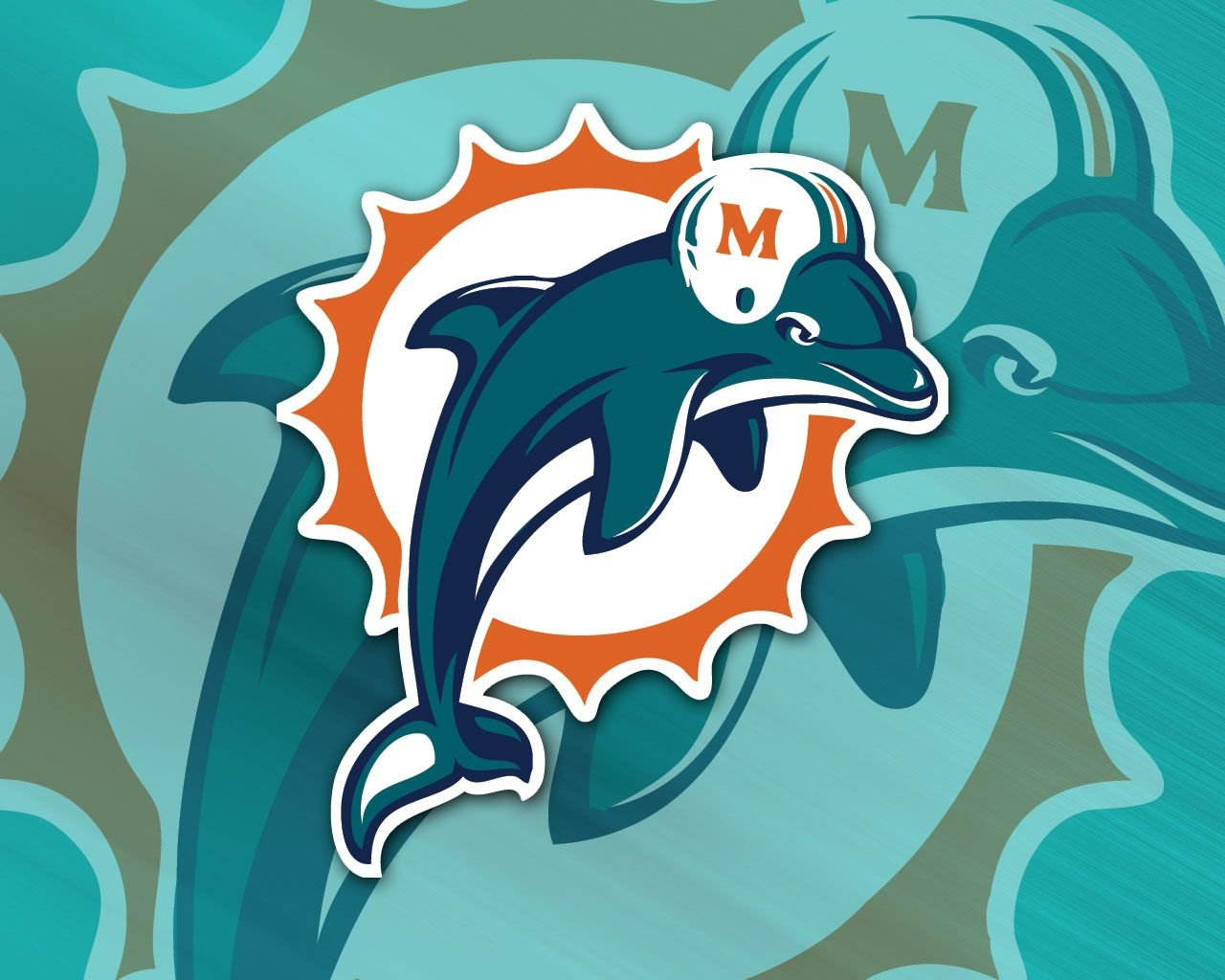 Download hd 1280x1024 Miami Dolphins PC wallpaper ID:469500 for free
