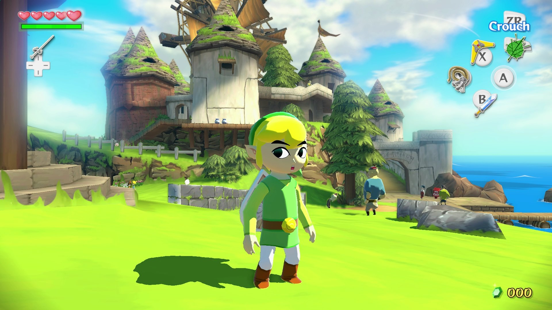 Awesome The Legend Of Zelda The Wind Waker Hd Free Wallpaper Id
