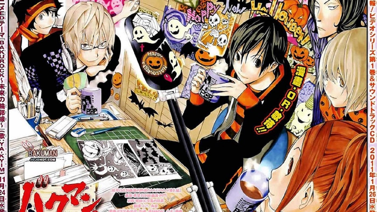 Awesome Bakuman free background ID:470448 for hd 1600x900 PC