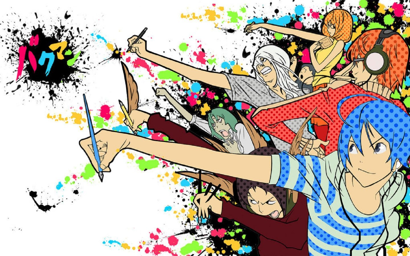 Free download Bakuman wallpaper ID:470455 hd 1440x900 for desktop