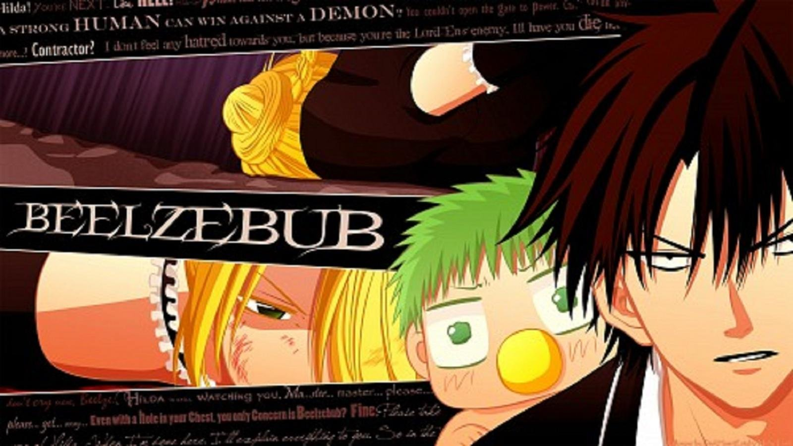 Free download Beelzebub background ID:270940 hd 1600x900 for PC