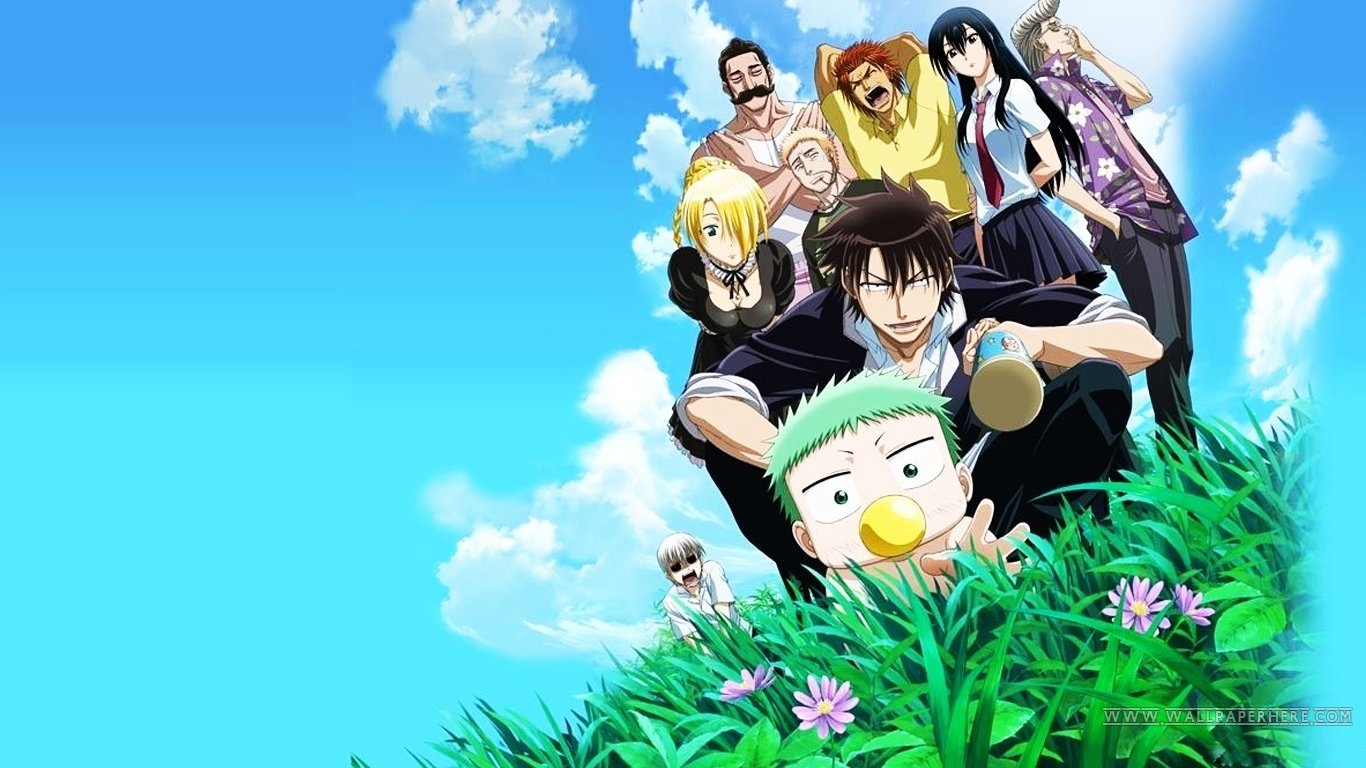 Free download Beelzebub wallpaper ID:270918 hd 1366x768 for PC