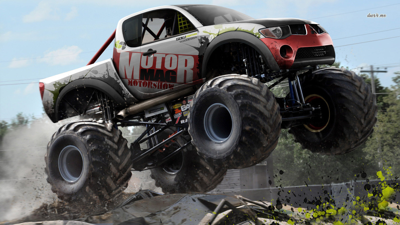 Monster Truck Wallpapers Hd For Desktop Backgrounds