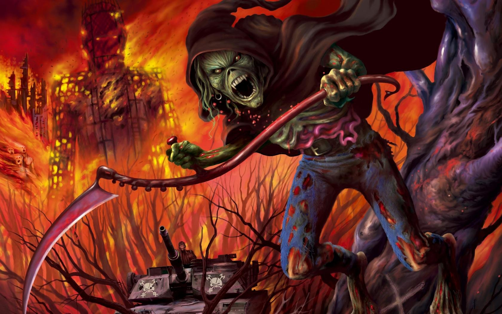 High resolution Iron Maiden hd 1680x1050 background ID:72429 for PC