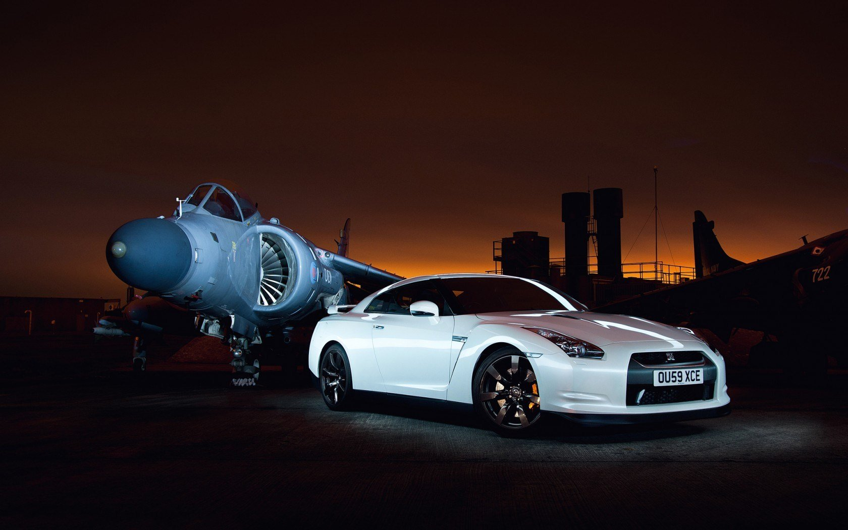 High resolution Nissan GT-R hd 1680x1050 wallpaper ID:438544 for PC