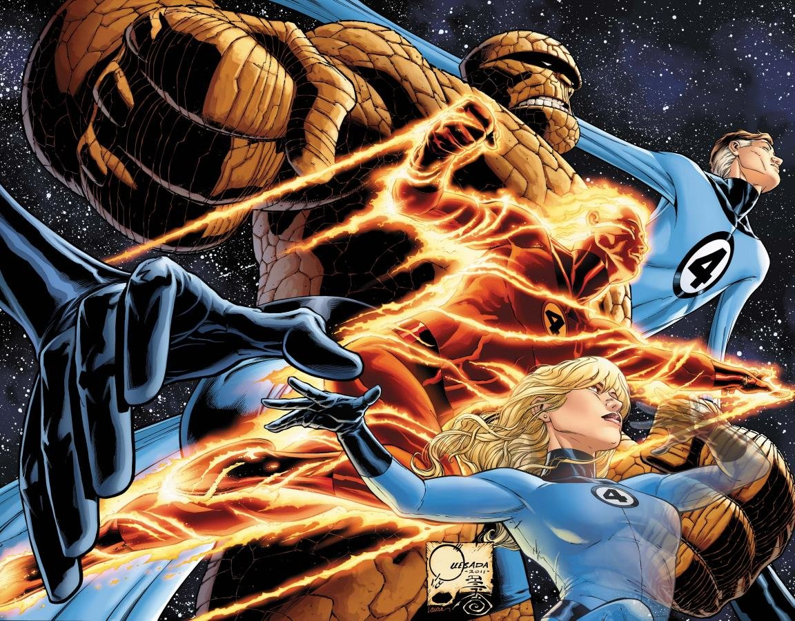 Download hd 1152x900 Fantastic Four comics computer background ID:236628 for free