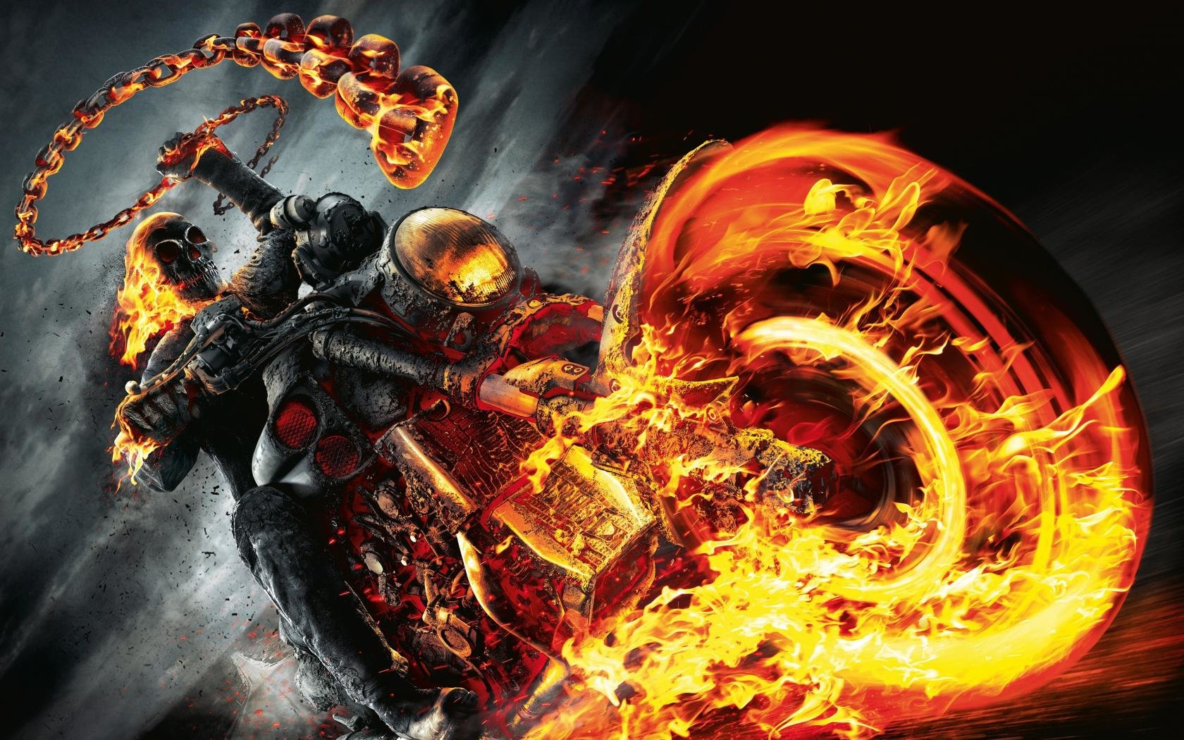 Download hd 1680x1050 Ghost Rider desktop background ID:29420 for free