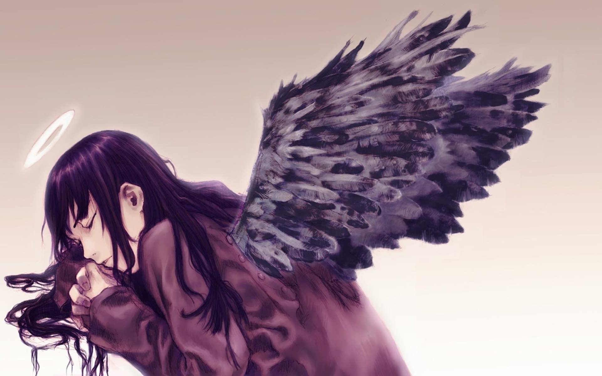Download hd 1920x1200 Haibane Renmei computer background ID:467874 for free