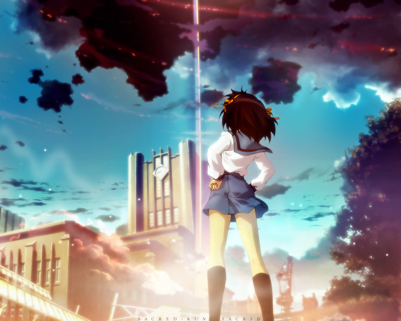 Awesome The Melancholy Of Haruhi Suzumiya free background ID:139114 for hd 1280x1024 desktop
