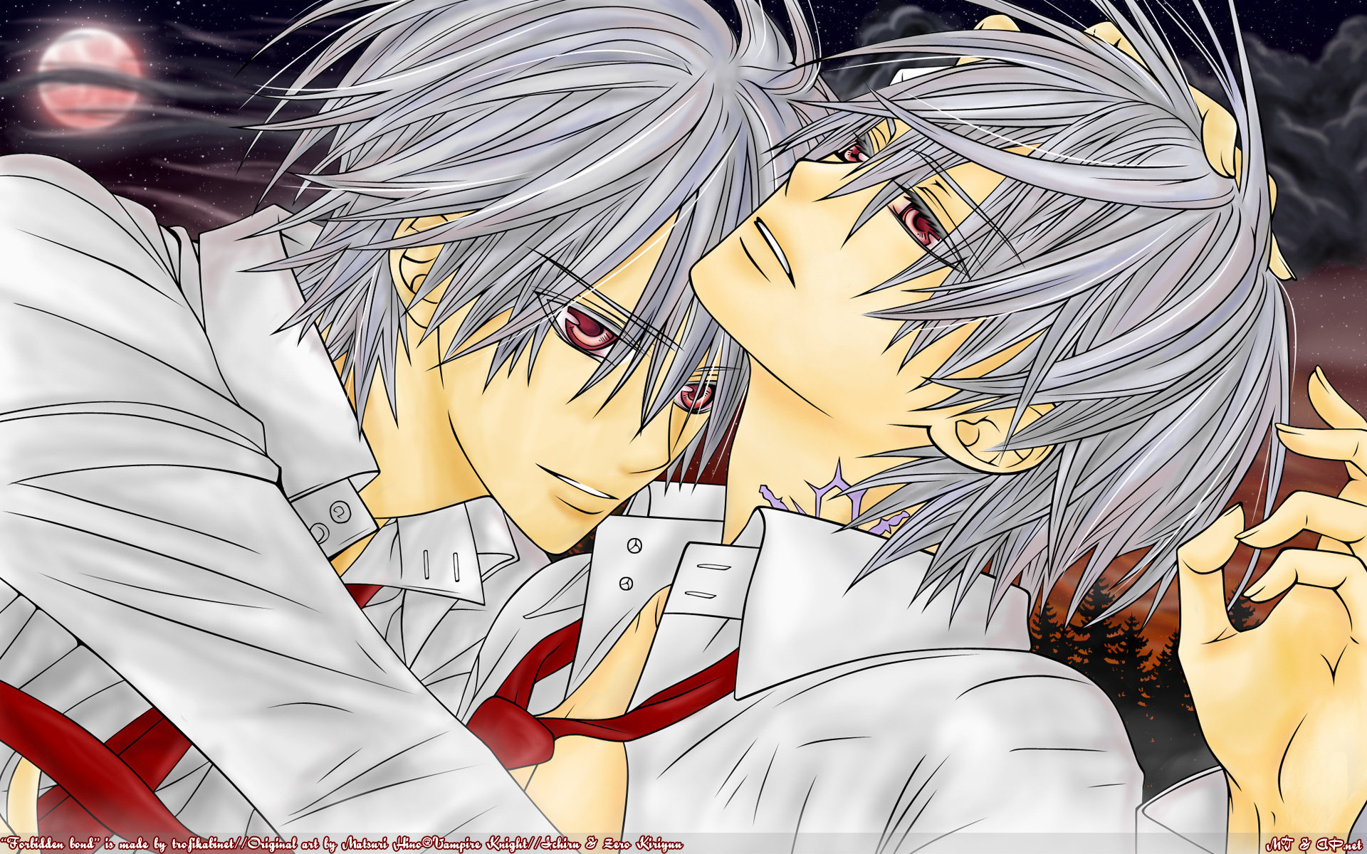 Awesome Vampire Knight free background ID:390528 for hd 1920x1200 PC