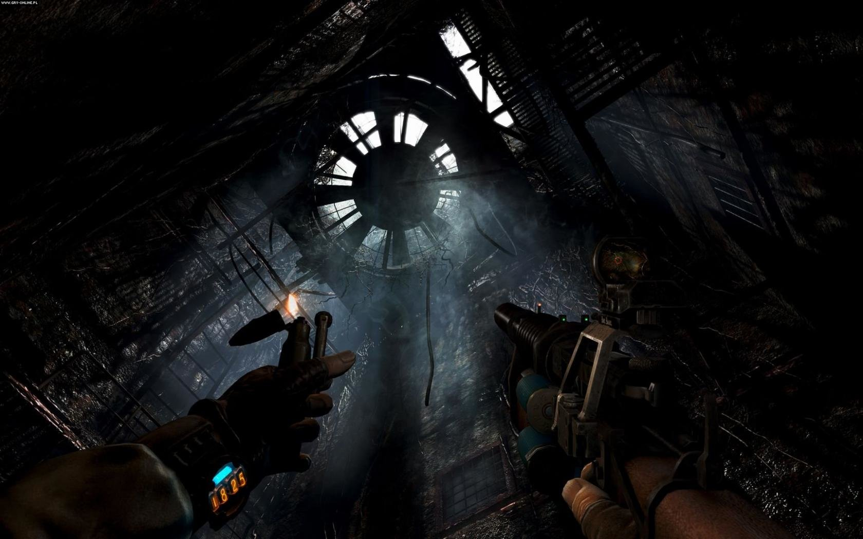 Best Metro Last Light Background ID390610 For High Resolution Hd 1680x1050 Desktop