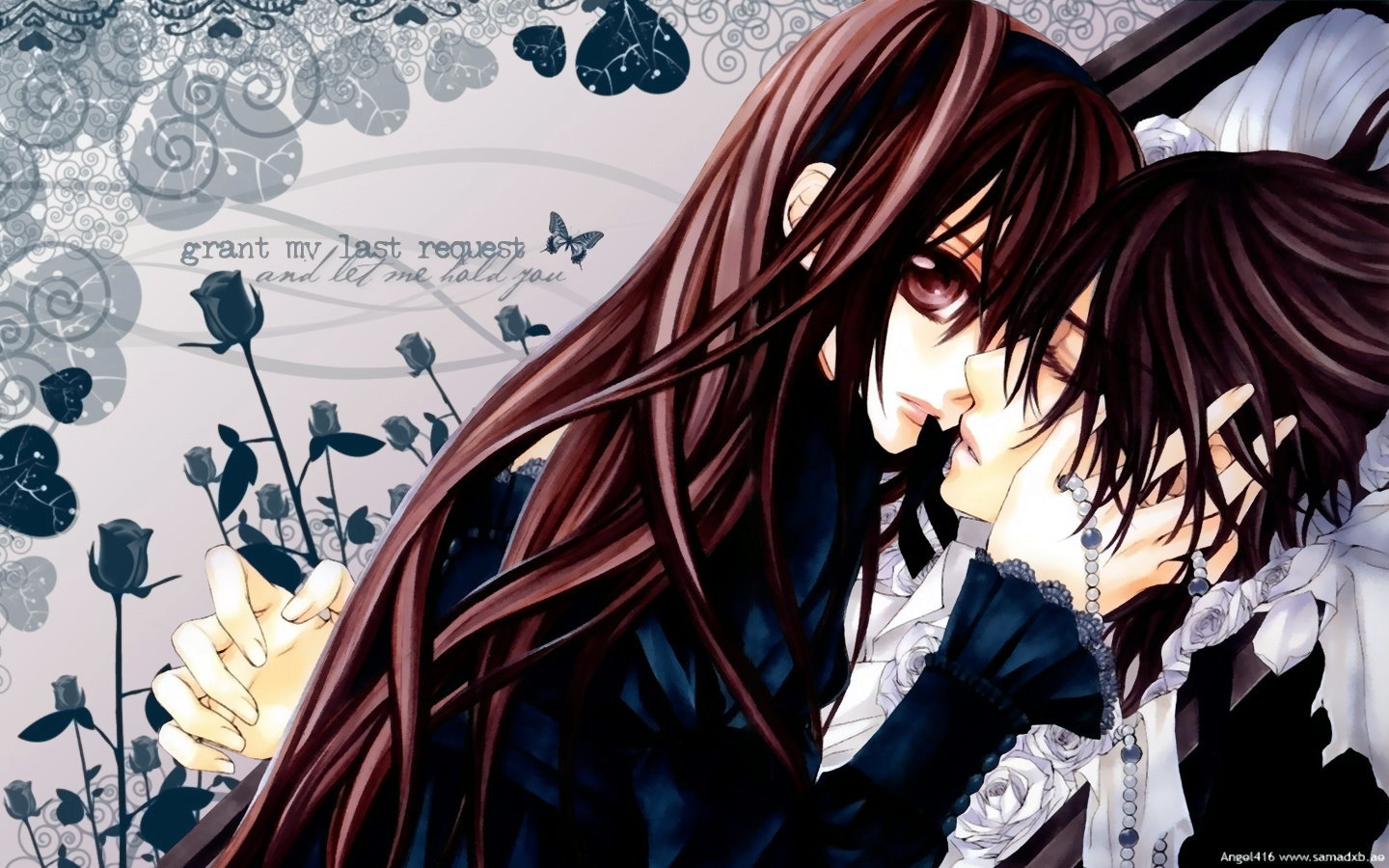 Download hd 1440x900 Vampire Knight desktop background ID:390523 for free