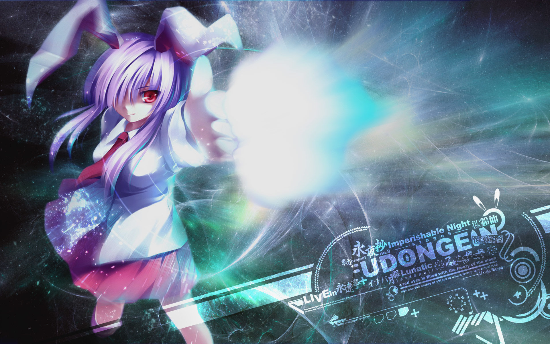 Best Reisen Udongein Inaba background ID:222041 for High Resolution hd 1920x1200 computer