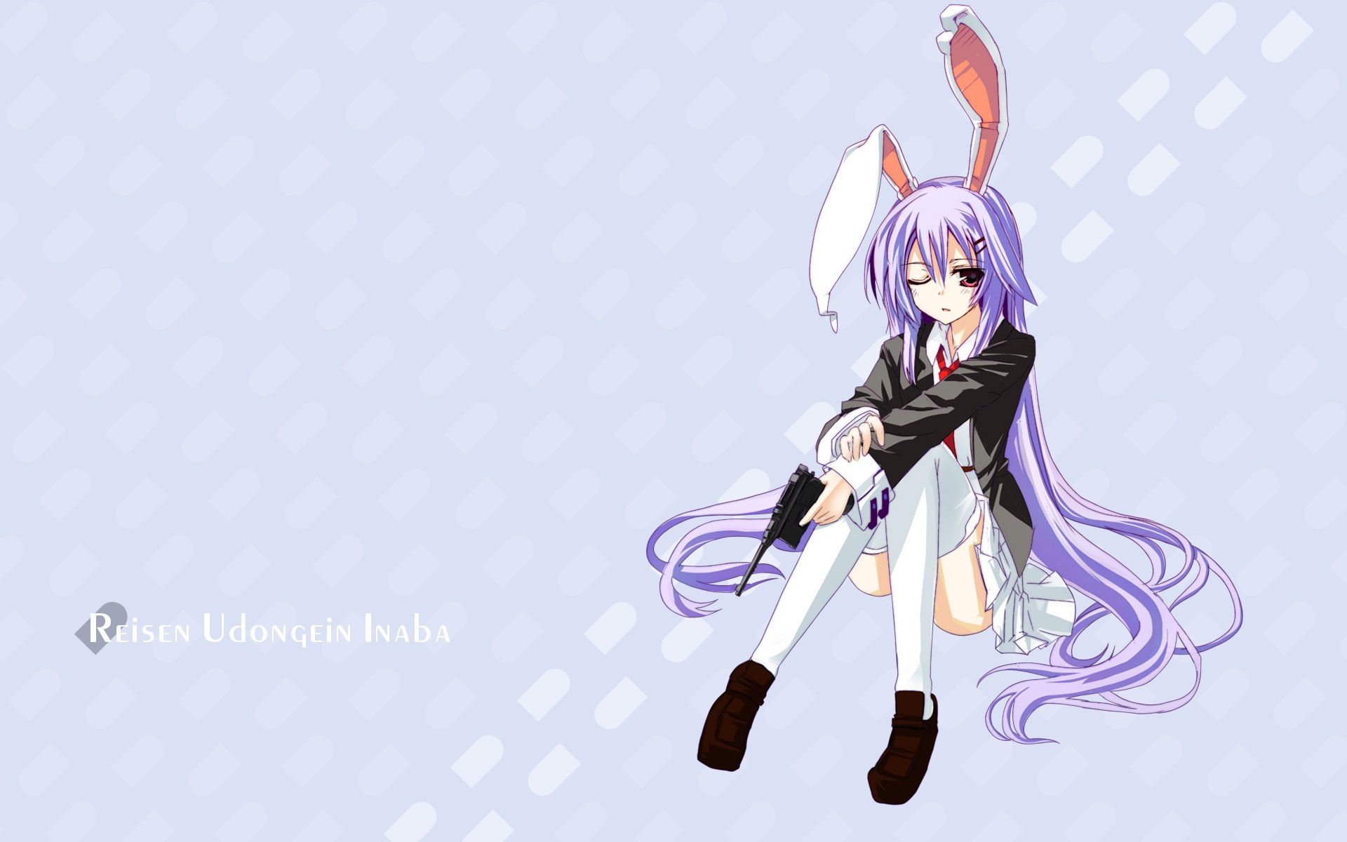 Download hd 1920x1200 Reisen Udongein Inaba desktop background ID:225356 for free