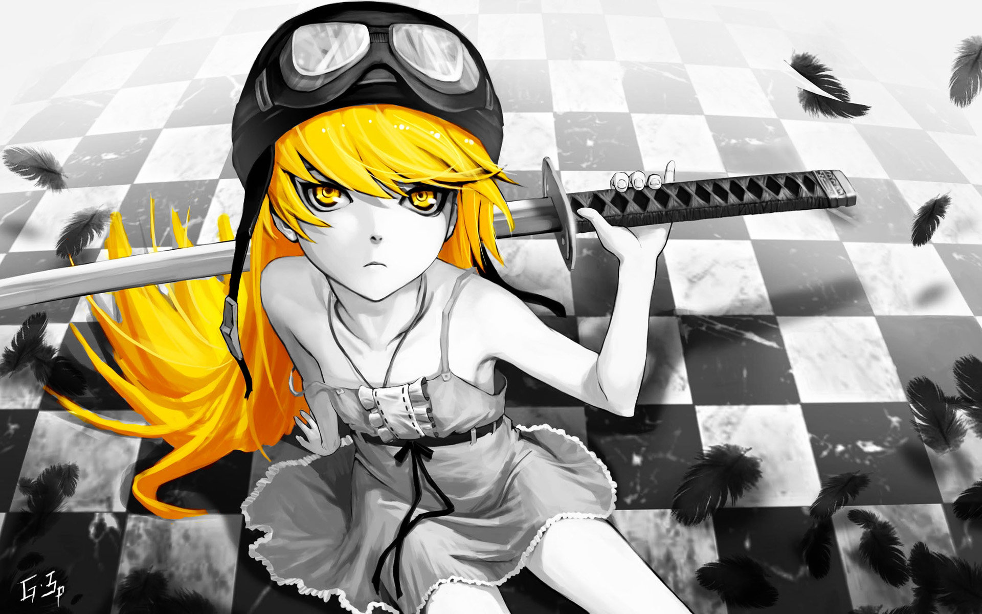 Free Shinobu Oshino high quality wallpaper ID:108740 for hd 1920x1200 desktop