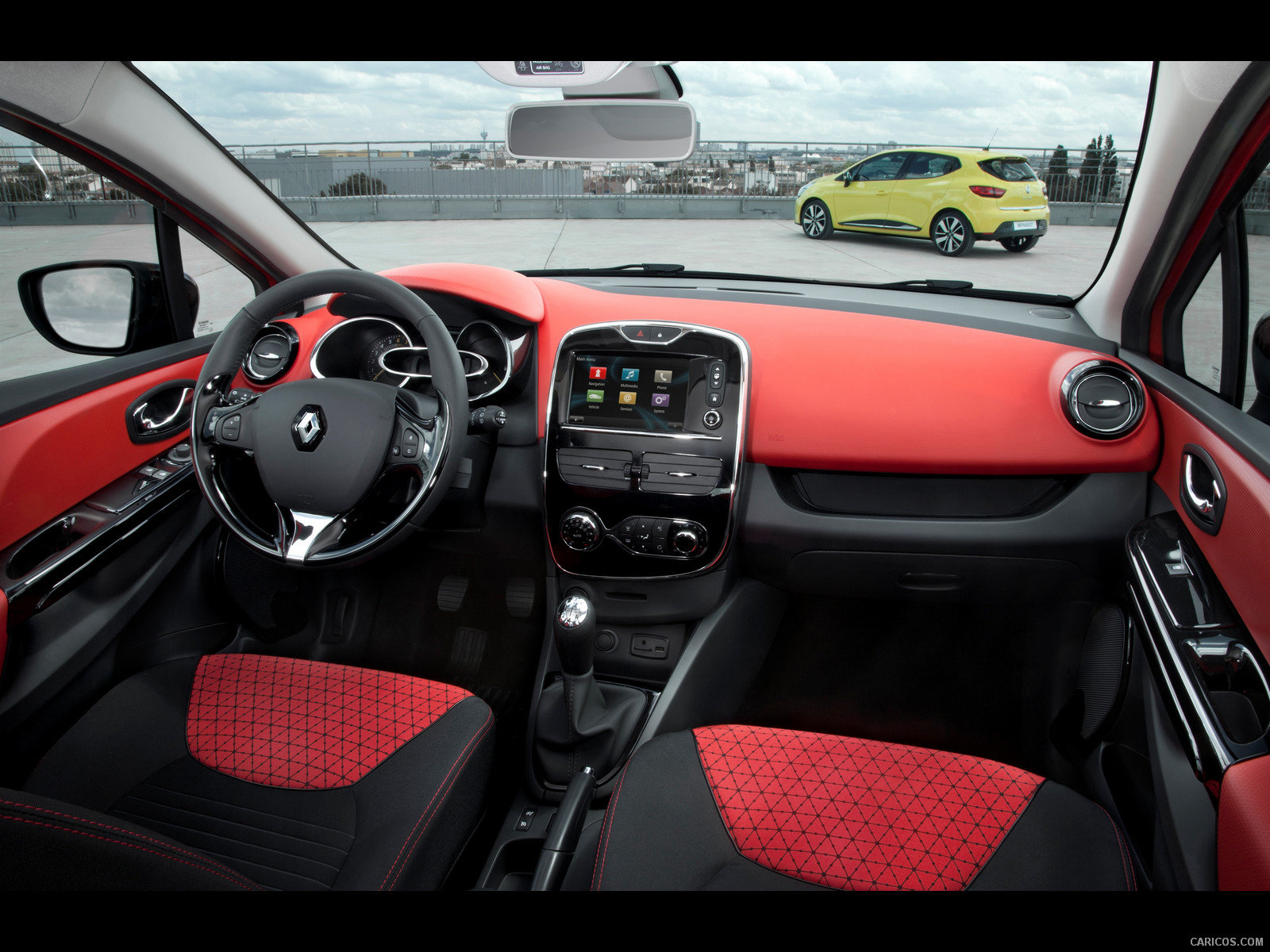 Download hd 1600x1200 Renault Clio desktop background ID:250159 for free