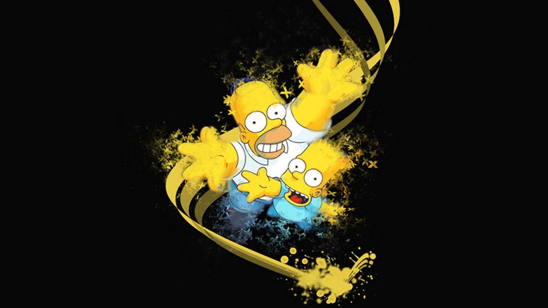 Bart Simpson HD Backgrounds For 1920x1080 Full 1080p Desktop