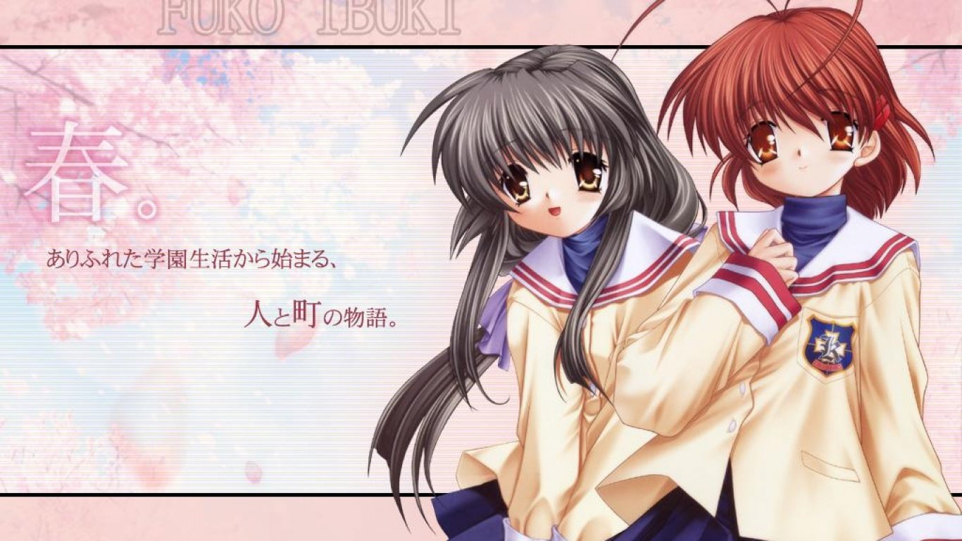 Awesome Clannad free wallpaper ID:316376 for 1366x768 laptop computer