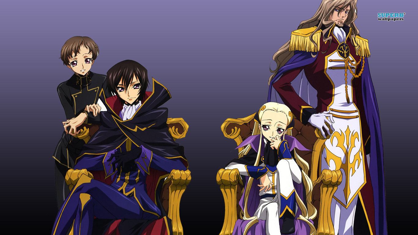 Download laptop Code Geass PC wallpaper ID:43643 for free