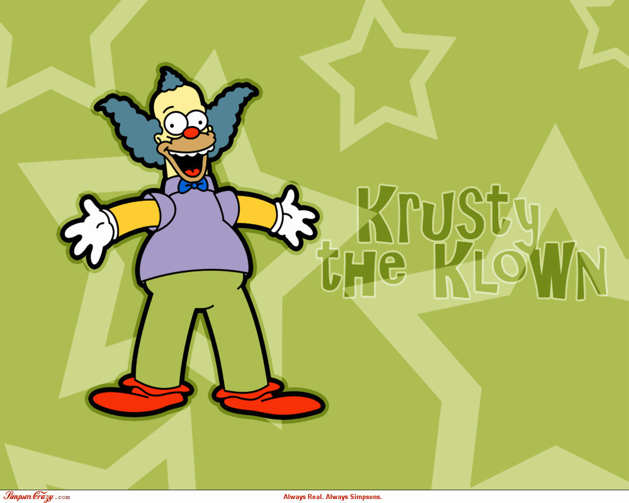 Krusty The Clown Wallpapers Hd For Desktop Backgrounds