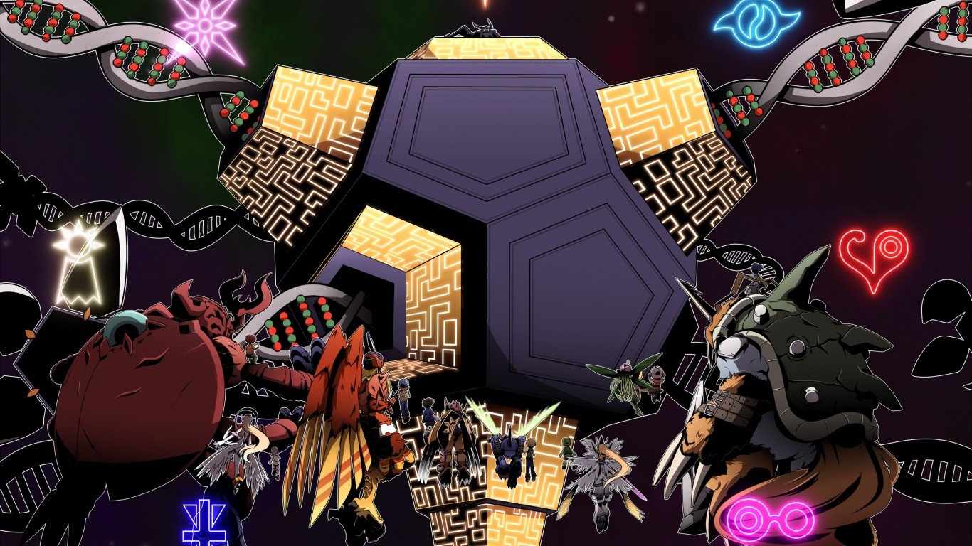 Download 1366x768 laptop Digimon PC background ID:380208 for free