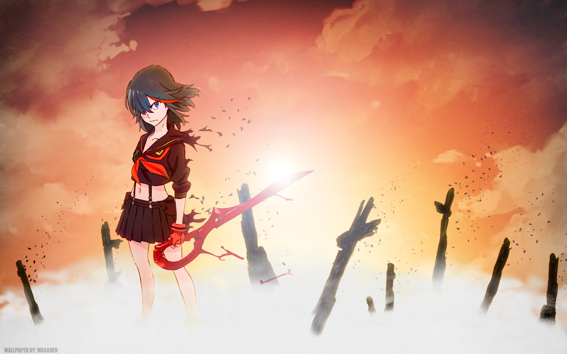 Best Kill La Kill wallpaper ID:118835 for High Resolution hd 1920x1200 PC