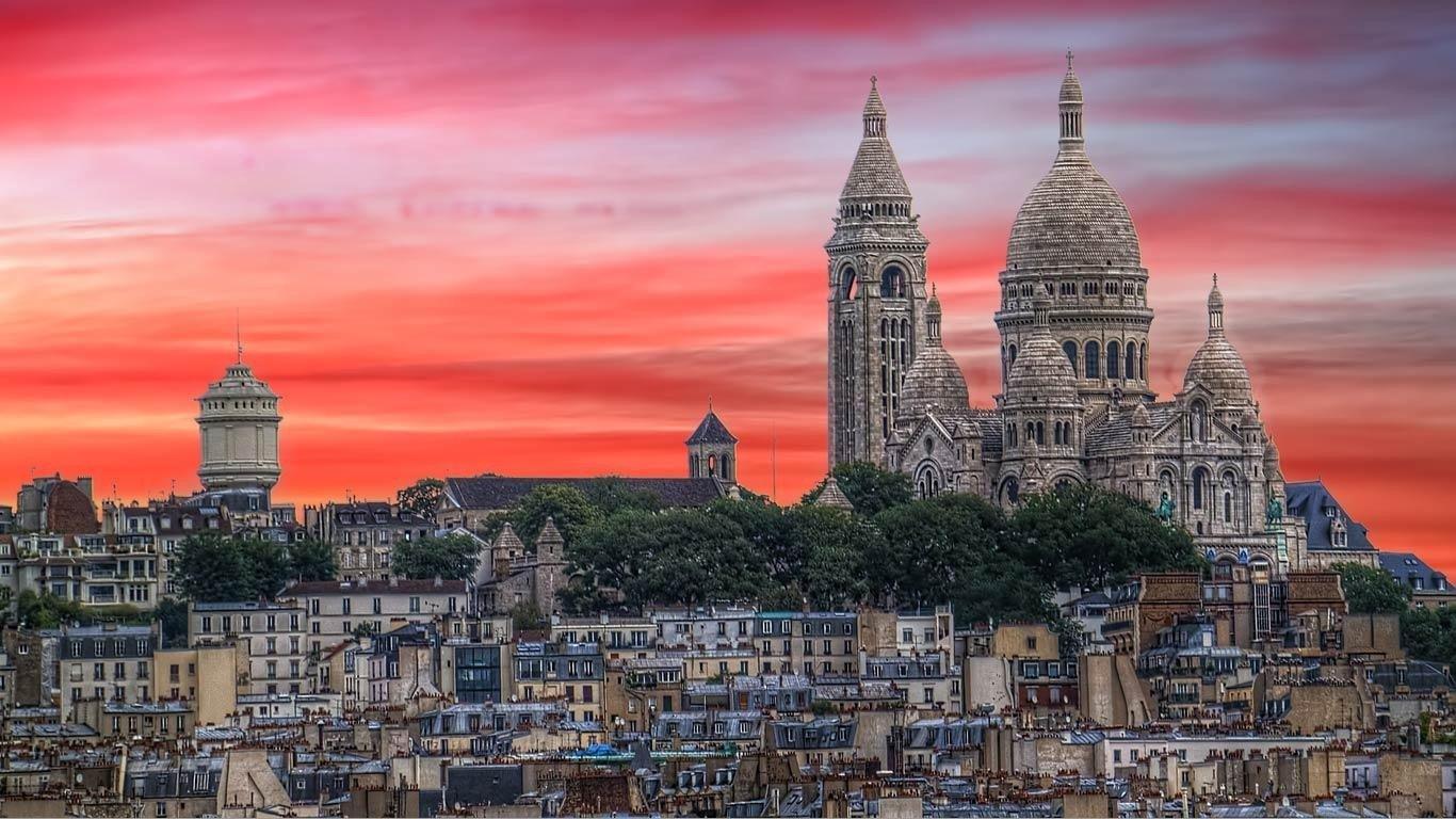 Best Paris Background Id 477220 For High Resolution Hd 1366x768 Desktop