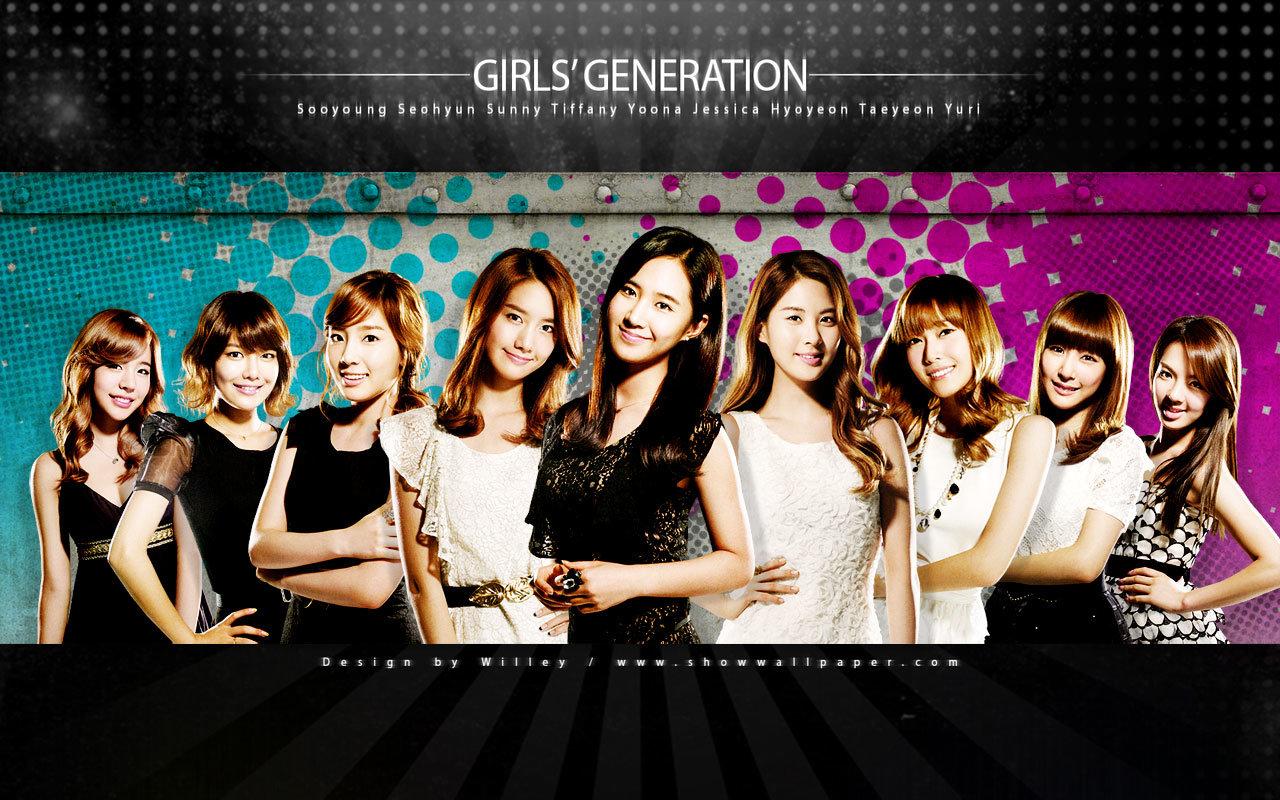 Snsd Girls Generation Wallpapers 1280x800 Desktop Backgrounds