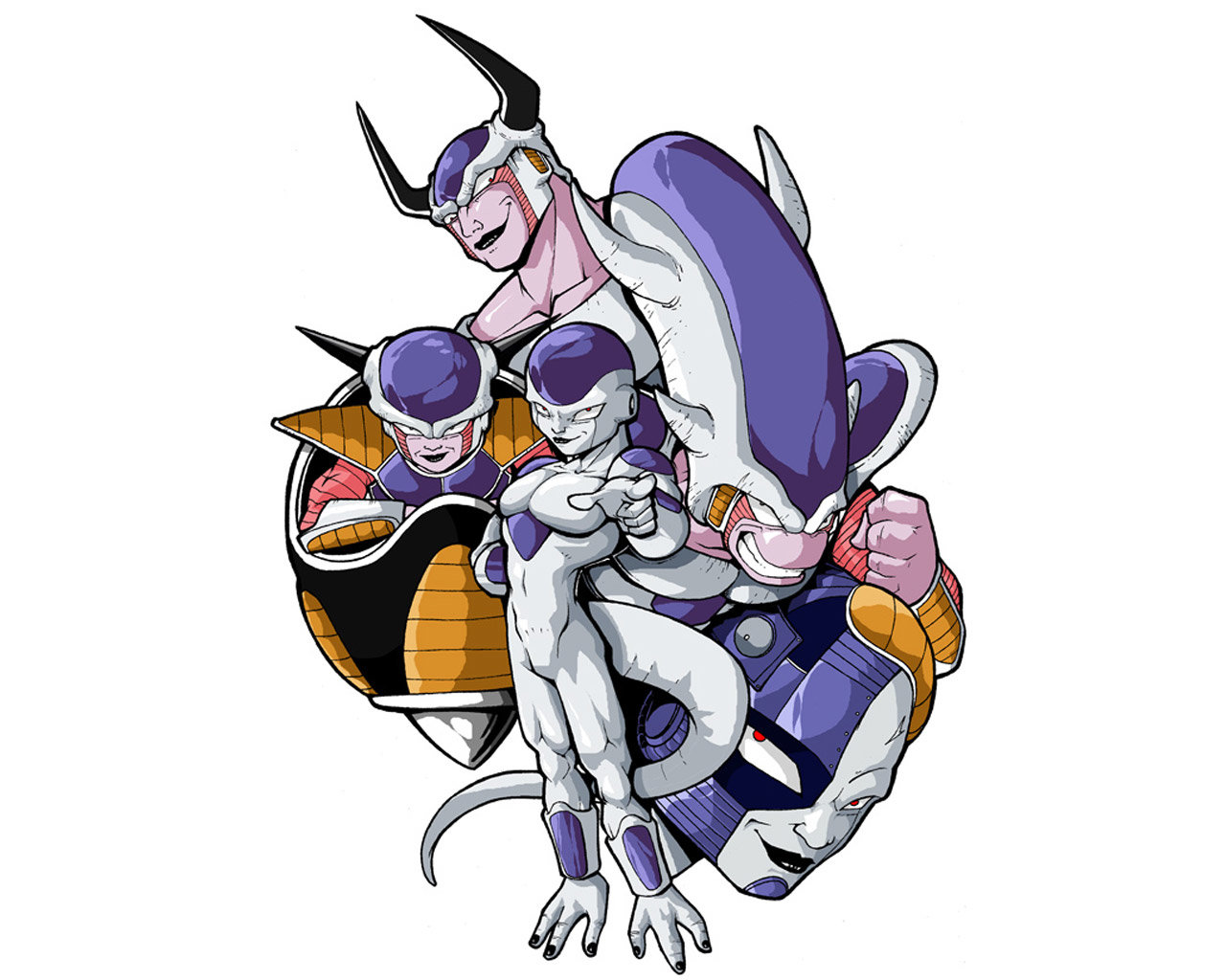 Awesome Frieza (Dragon Ball) free wallpaper ID:462103 for hd 1280x1024 PC