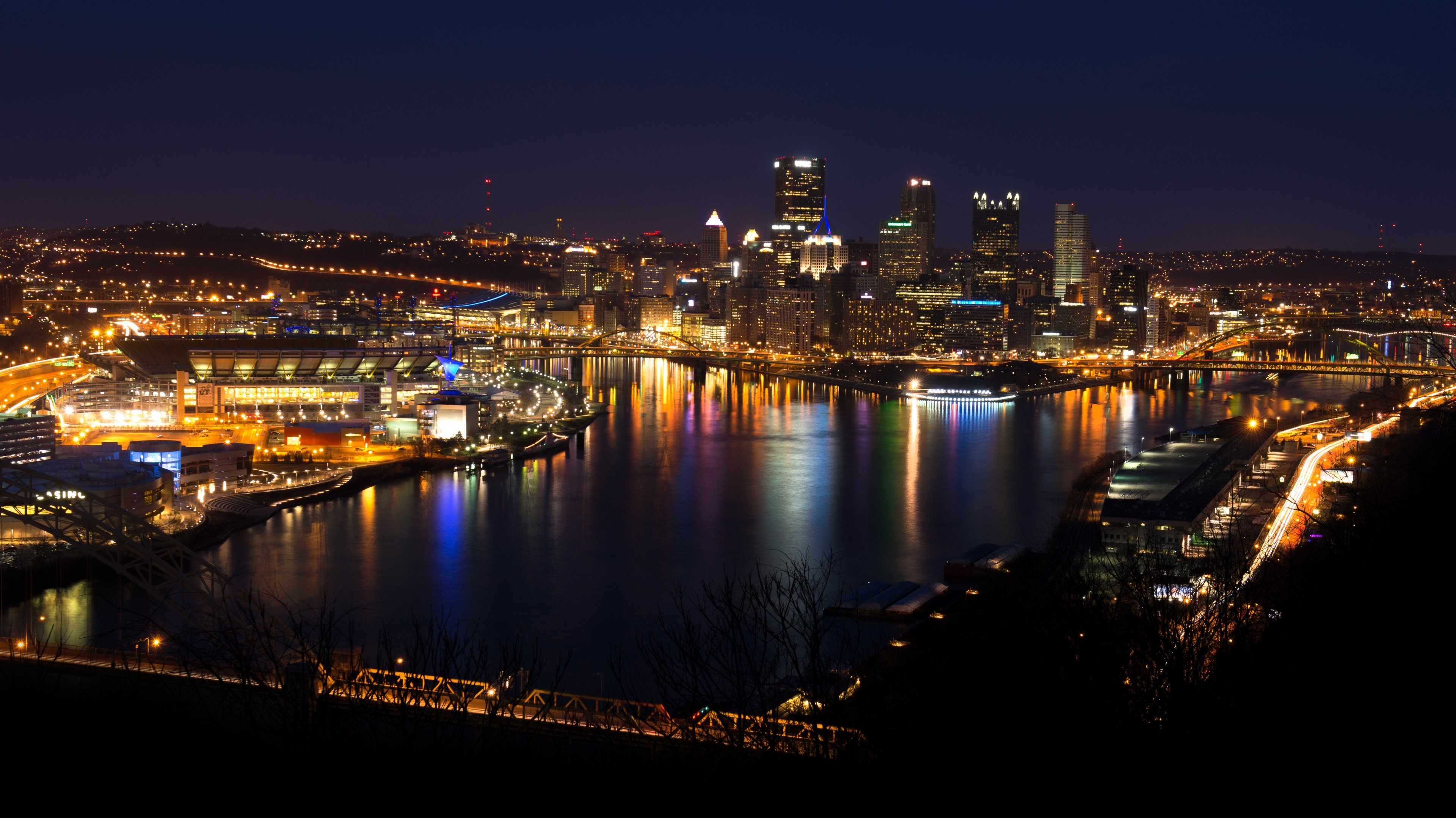 High Resolution Pittsburgh Ultra Hd 4k Wallpaper Id 486522 For Pc