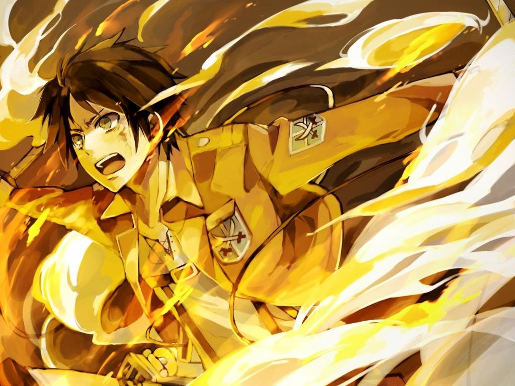 Eren Yeager Wallpapers 1024x768 Desktop Backgrounds