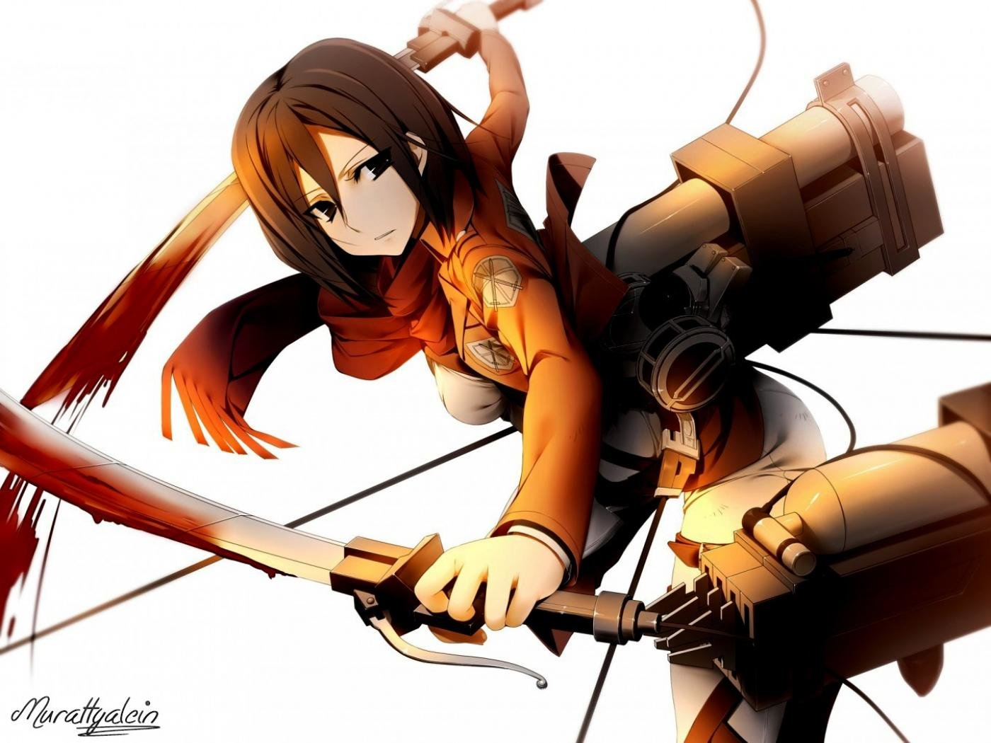 Mikasa Ackerman Wallpapers Hd For Desktop Backgrounds