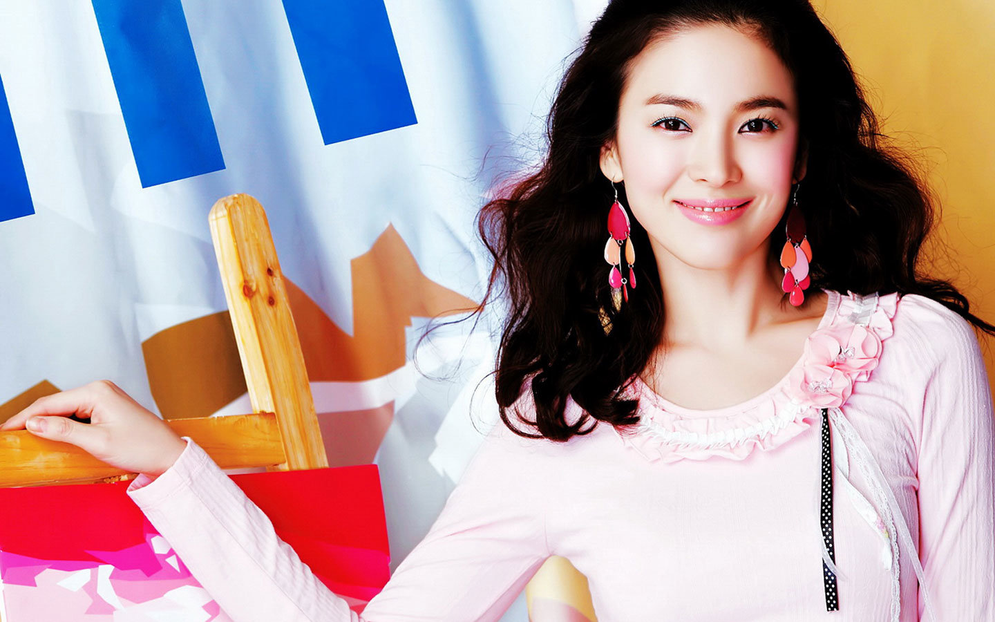Download hd 1440x900 Song Hye-kyo PC wallpaper ID:469340 for free