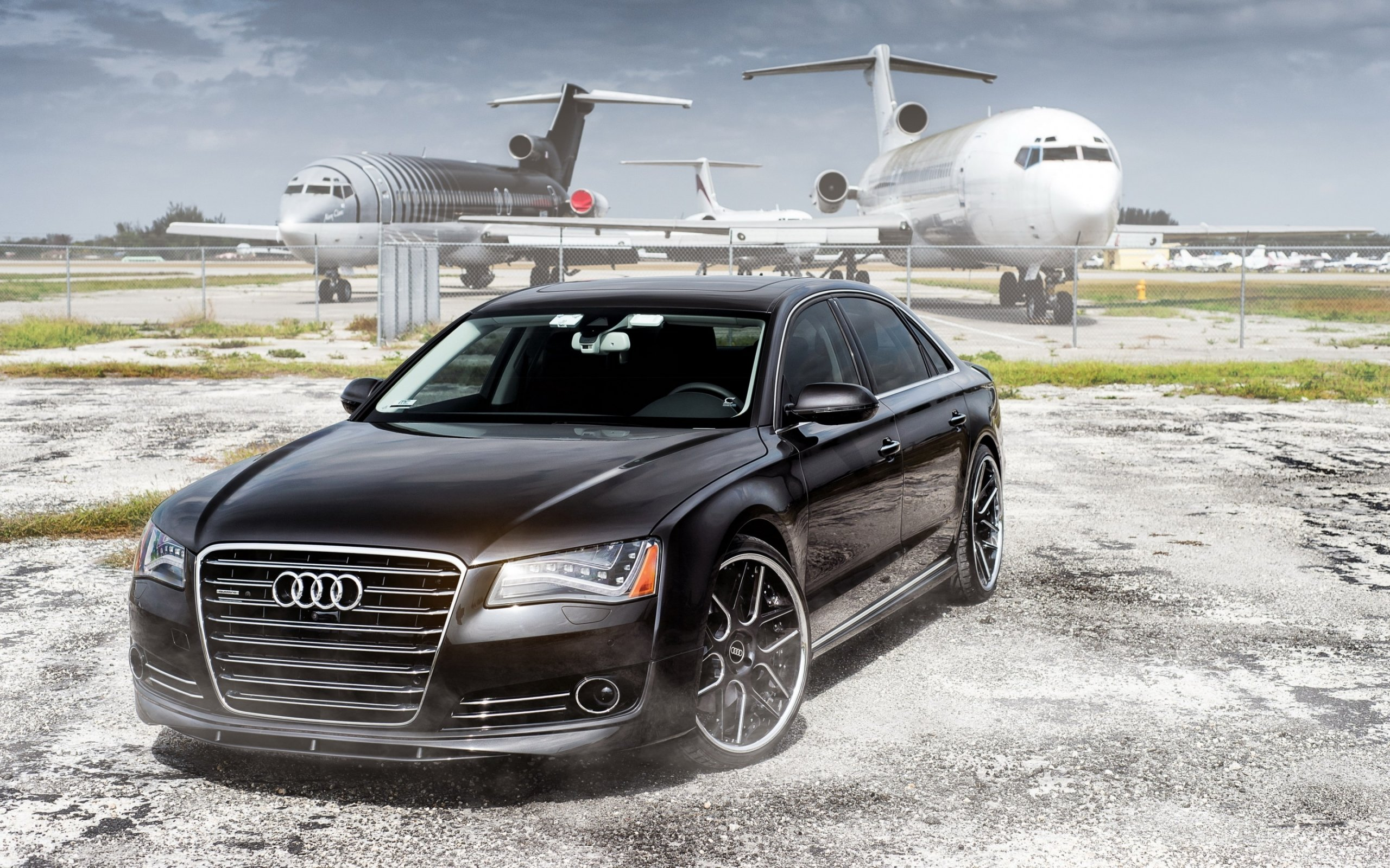 Free Audi A8 high quality wallpaper ID:34233 for hd 2560x1600 desktop