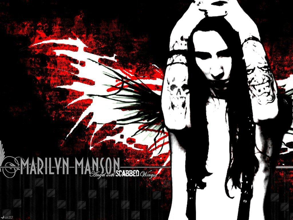 Marilyn Manson Wallpapers 1024x768 Desktop Backgrounds