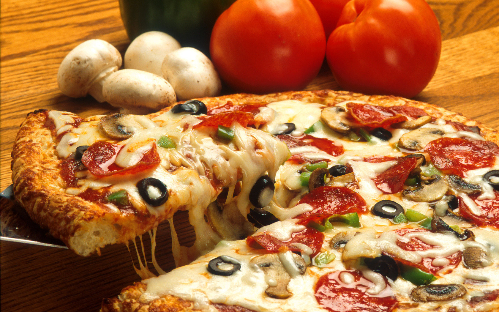 Best Pizza background ID:390291 for High Resolution hd 1680x1050 desktop