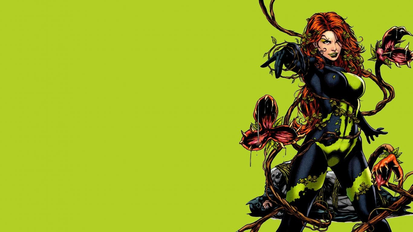 Awesome Poison Ivy free wallpaper ID:430610 for laptop PC