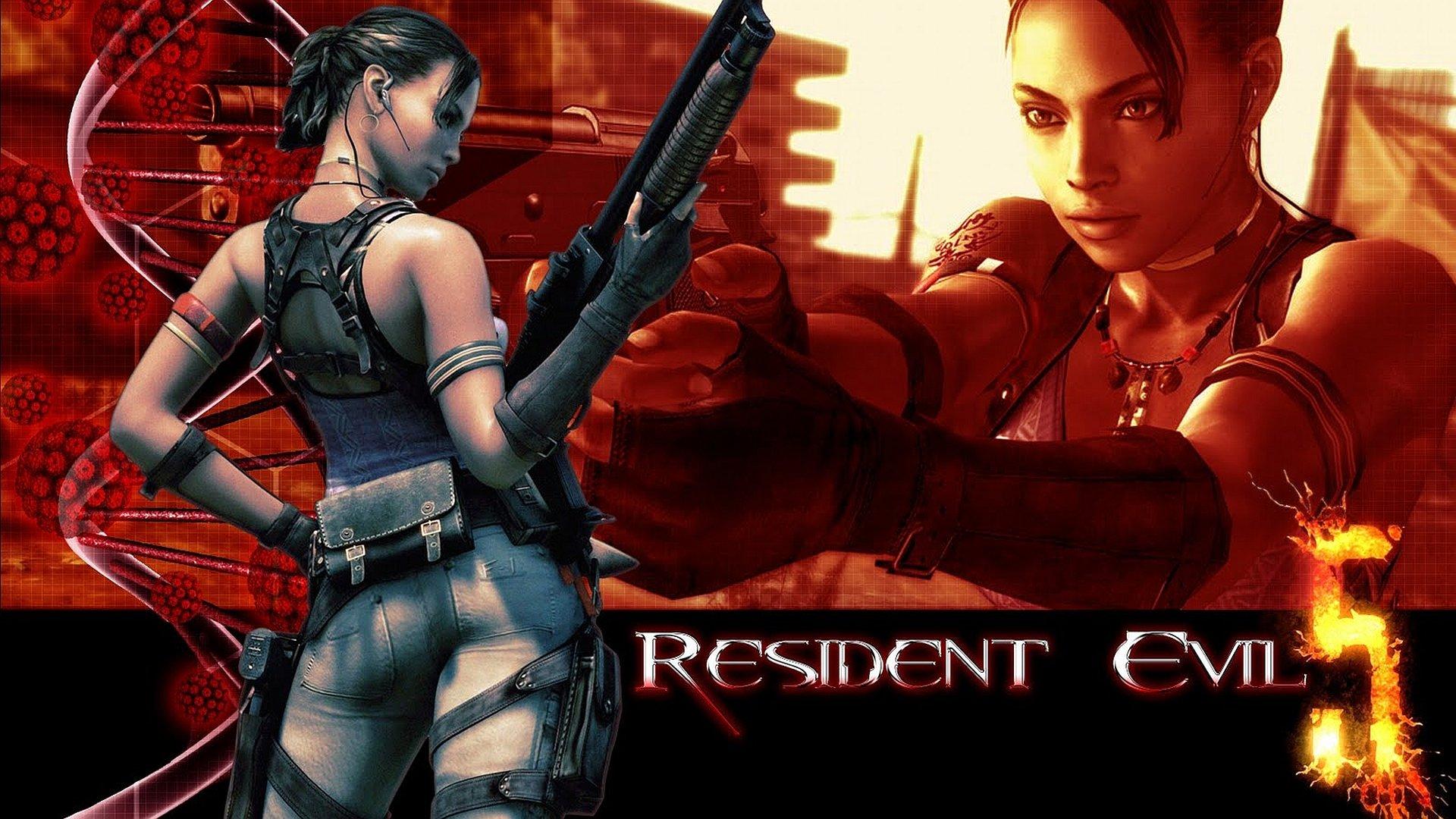 High Resolution Resident Evil 5 Hd 1920x1080 Wallpaper Id 50322