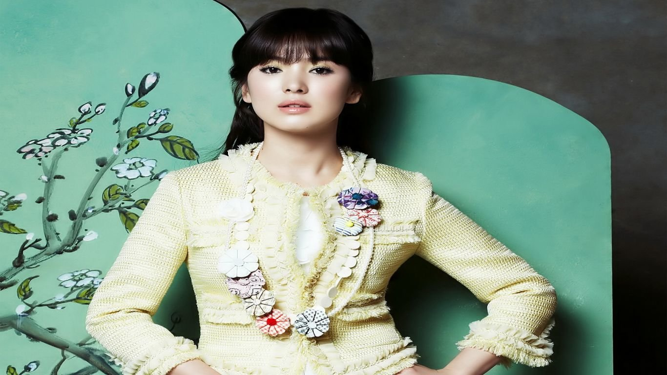Best Song Hye-kyo wallpaper ID:469348 for High Resolution 1366x768 laptop PC