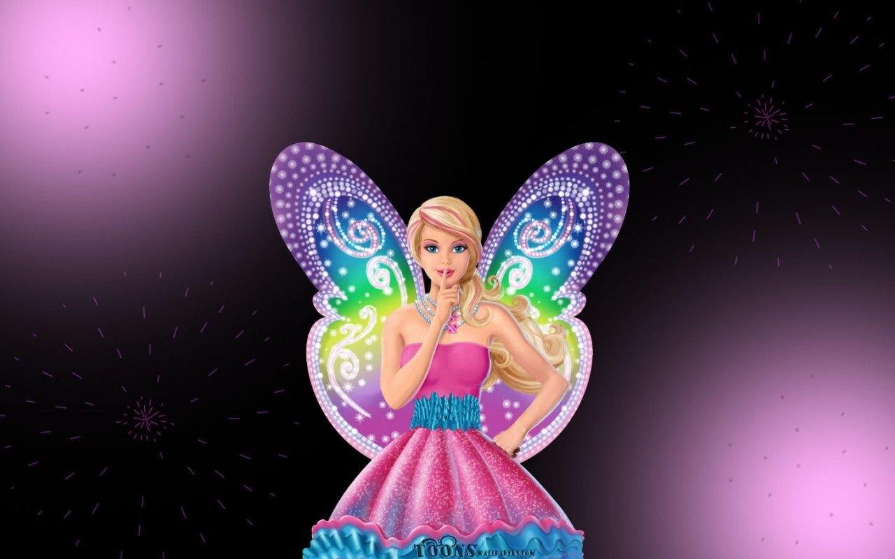 High Resolution Barbie Hd 1280x800 Wallpaper Id419846 For Computer